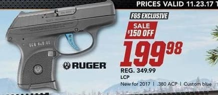 Field & Stream Black Friday: Ruger LCP .380 ACP for $199.98