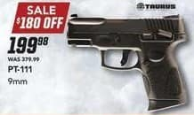 Field & Stream Black Friday: Taurus PT-111 9mm for $199.98