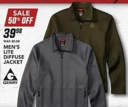 Field & Stream Black Friday: Gerry Men's Lite Diffuse Jacket for $39.98