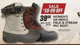Field & Stream Black Friday: Field & Stream Men's Pac Boot for $39.98