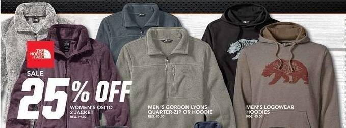 Field & Stream Black Friday: The North Face Men's Gordon Lyons Hoodie - 25% OFF