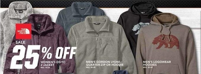 Field & Stream Black Friday: The North Face Men's Logowear Hoodies - 25% OFF