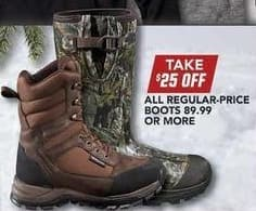 Field & Stream Black Friday: All Regular-Price Boots - 25% OFF