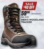 Field & Stream Black Friday: Field & Stream Men's Woodland Tracker Boot for $59.98