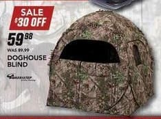 Field & Stream Black Friday: Doghouse Blind for $59.98