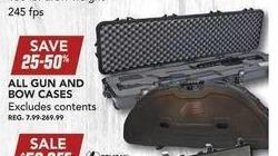 Field & Stream Black Friday: All Gun & Bow Cases - 25-50 % OFF