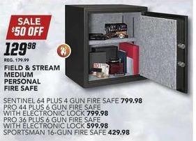 Field & Stream Black Friday: Field & Stream Medium Personal Fire Safe for $129.98