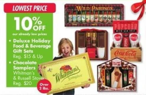 Big Lots Black Friday: Deluxe Holiday Food & Beverage Gift Sets - 10% Off