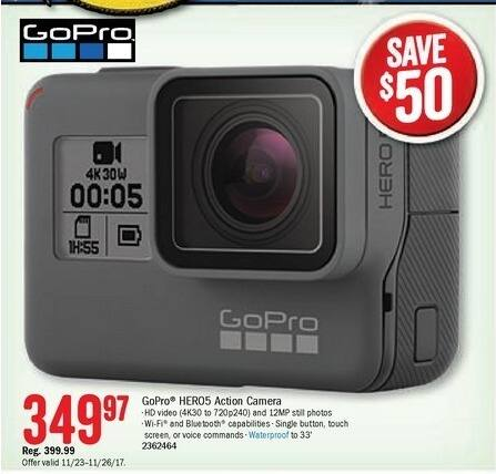 Bass Pro Shops Black Friday: GoPro Hero5 Action Camera for $349.97