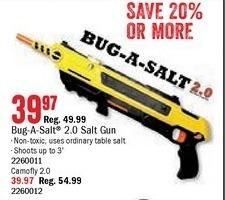 Bass Pro Shops Black Friday: Bug-A-Salt 2.0 Gun for $39.97