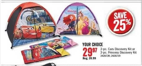 Bass Pro Shops Black Friday: 2-Pc. Disney Princess Discovery Kit for $29.97