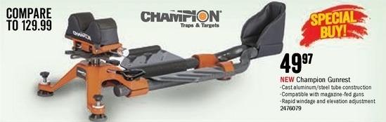 Bass Pro Shops Black Friday: Champion Gunrest for $49.97