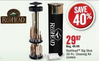 Bass Pro Shops Black Friday: RedHead Big Shot Universal Gun Cleaning Kit for $29.97
