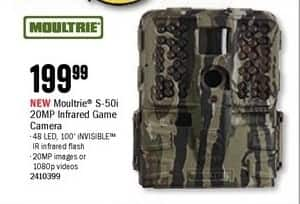 Bass Pro Shops Black Friday: Moultrie S-50i 20MP Infrared Game Camera for $199.99