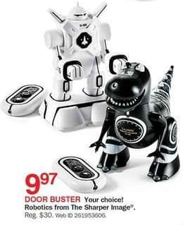 Bon-Ton Black Friday: Sharper Image Robotics for $9.97