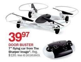 Bon-Ton Black Friday: Sharper Image 7-in. Flying Car for $39.97
