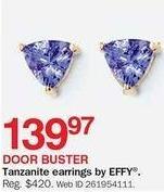 Bon-Ton Black Friday: Effy Tanzanite Earrings for $139.97