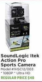 H-E-B Black Friday: SoundLogic Itek Action Pro Sports Camera for $25.00