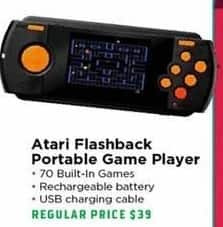 H-E-B Black Friday: Atari Flashback Portable Game Player for $30.00