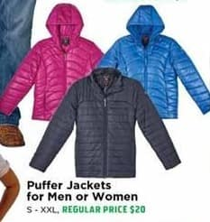 H-E-B Black Friday: Mens Puffer Jackets - 50% OFF