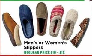 H-E-B Black Friday: Mens Slippers - 50% OFF