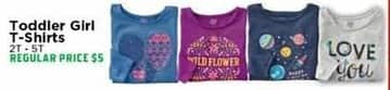 H-E-B Black Friday: Toddler Girl T-Shirts - 50% OFF