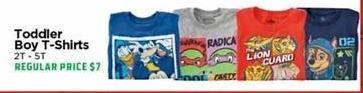 H-E-B Black Friday: Toddler Boy T-Shirts - 50% OFF