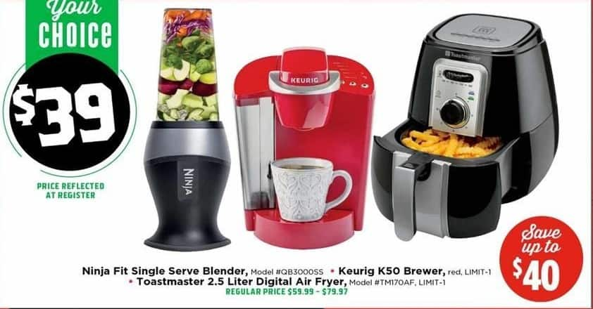 H-E-B Black Friday: Toastmaster 2.5L Digital Air Fryer for $39.00