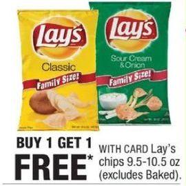 CVS Black Friday: Lay's Chips - B1G1