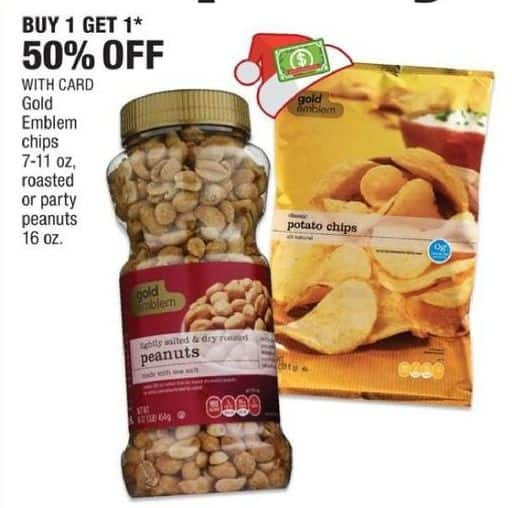 CVS Black Friday: Gold Emblem Party Peanuts w/  Card - B1G1 50% OFF