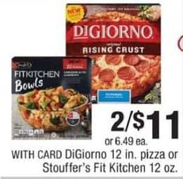CVS Black Friday: (2) DiGiorno 12 In. Pizza w/ Card for $11.00