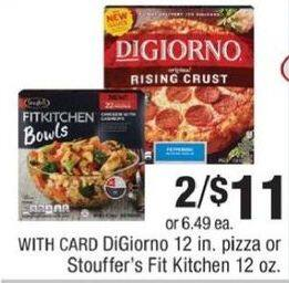 CVS Black Friday: (2) Stouffer's Fit Kitchen 12 Oz. for $11.00