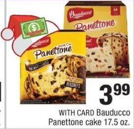 CVS Black Friday: Bauducco Penettone w/ Card for $3.99