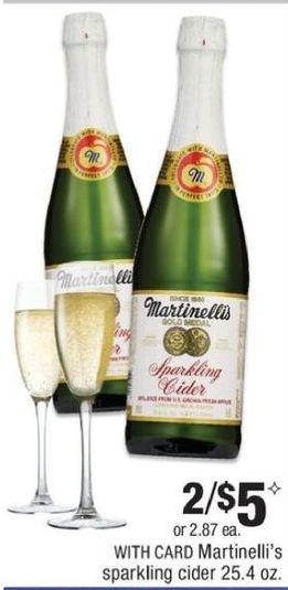 CVS Black Friday: (2) Martinelli's Sparking Cider for $5.00
