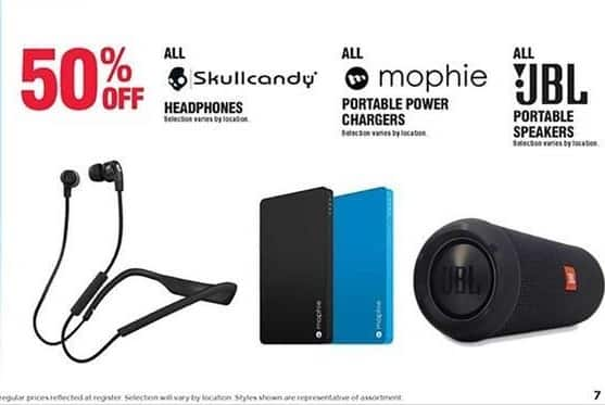 Navy Exchange Black Friday: Mophie Portable Power Chargers - 50% OFF