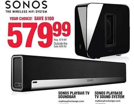 Navy Exchange Black Friday: Sonos Playbar TV Soundbar for $579.99