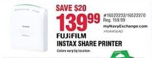 Navy Exchange Black Friday: FujiFilm Instax Share Printer for $139.99