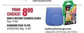 Navy Exchange Black Friday: Mini 9 Instant Camera Cases for $8.99