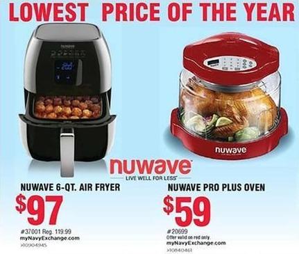 Navy Exchange Black Friday: Nuwave 6-Qt. Air Fryer for $97.00