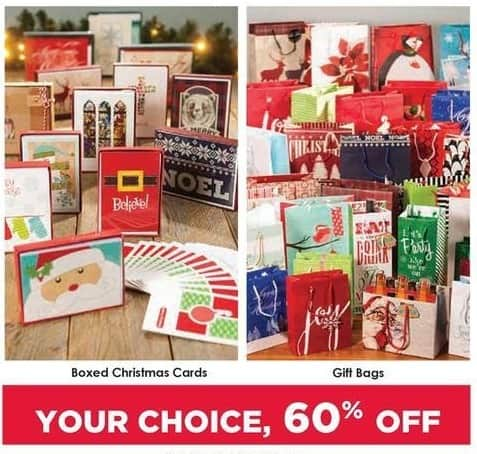 Craft Warehouse Black Friday: Boxed Christmas Cards - 60% OFF