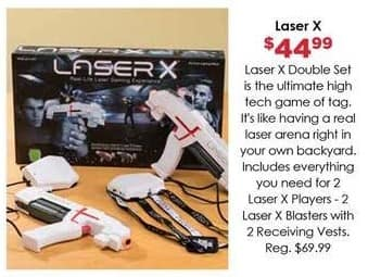 Craft Warehouse Black Friday: Laser X Double Set for $44.99