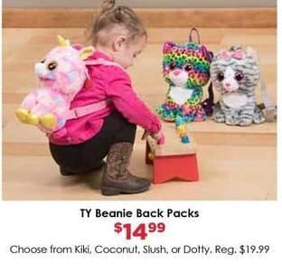 Craft Warehouse Black Friday: TV Beanie Blue Packs for $14.99