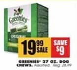 Blains Farm Fleet Black Friday: Greenies 27 Oz. Dog Chews for $19.99