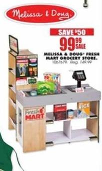 Blains Farm Fleet Black Friday: Melissa & Doug Fresh Mart Grocery Store for $99.99