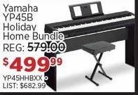 Sam Ash Black Friday: Yamaha YP45B Holiday Home Bundle for $499.99