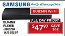 PC Richard & Son Black Friday: Samsung Blu-Ray Player for $47.97
