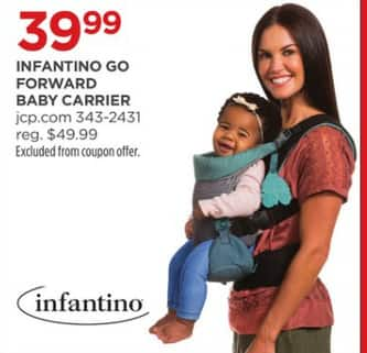 4878a317aa0 JCPenney Black Friday  Infantino Go Forward Baby Carrier for  39.99 ...