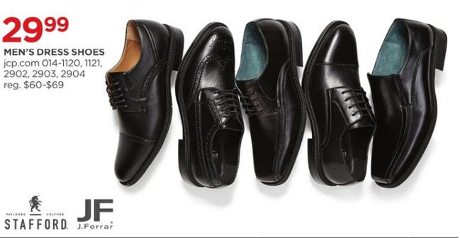 9e5fbf7fcf00a JCPenney Black Friday  Men s J.Ferrar Dress Shoes for  29.99 ...