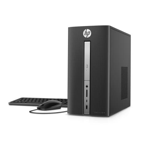 HP Pavilion Desktop Tower, Intel Core i7-7700 , 16GB Memory, 2TB Hard Drive, Windows 10 home, 570-p033w $350 at Walmart YMMV
