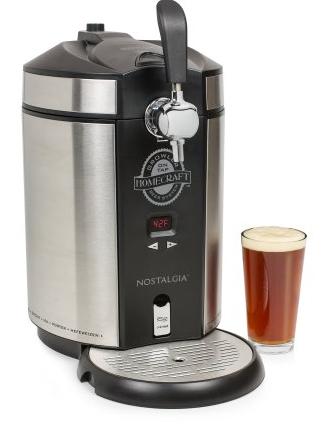 Walmart B&M YMMV - Nostalgia CBD5SS Homecraft On Tap Beer Growler System - $50 (or as low as $25)
